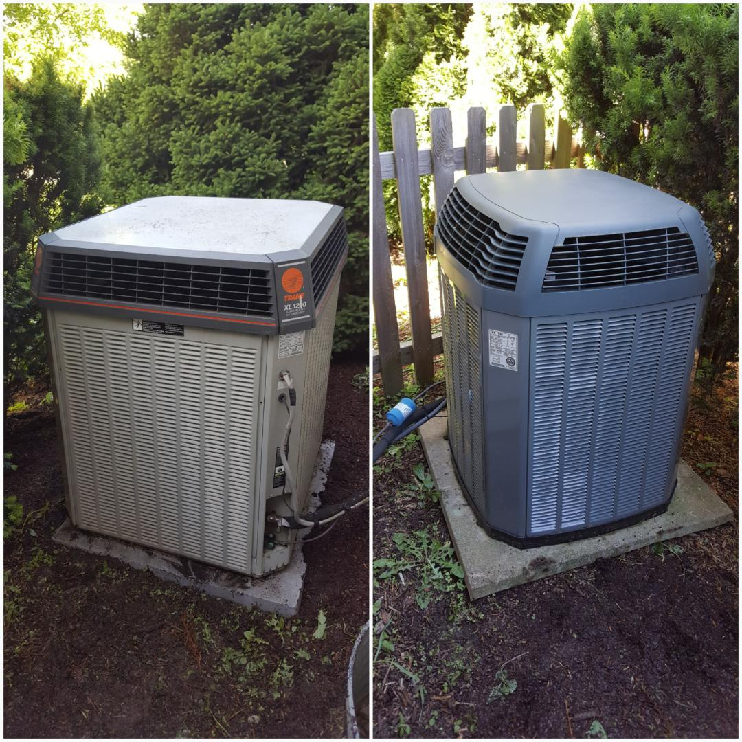 Gahanna, OH - Two generations of high-efficiency Trane XL 1200 & XL 1400i Maintenance and Service Laurel Ridge Drive Gahanna, OH 43230