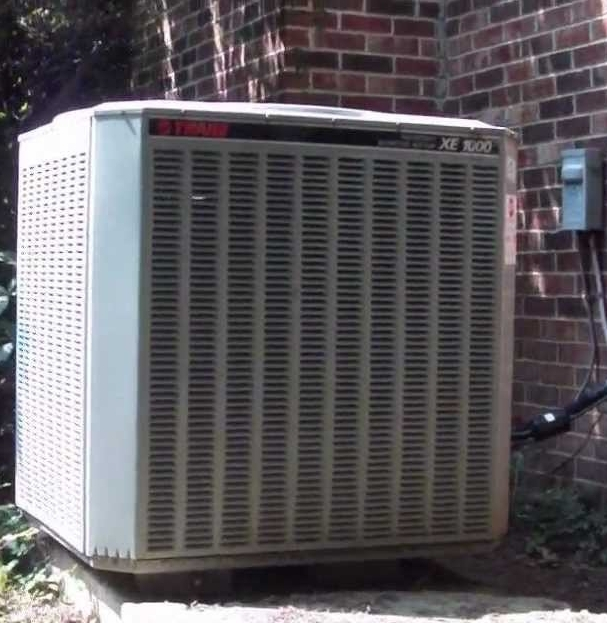 New Albany, OH - 1997 Trane xb1000 R22 recharge and leak freeze brand refrigerant leak stop Feneay Rd. Sudbrook Square West New Albany, OH 43054