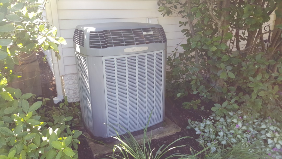 Dublin, OH - Trane xl13i full system maintenance tune up cleaning and puron recharge Aldridge Place Dublin, OH 43017