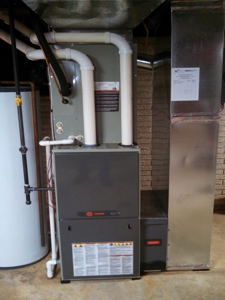 Pickerington, OH - Trane TruComfort system installed