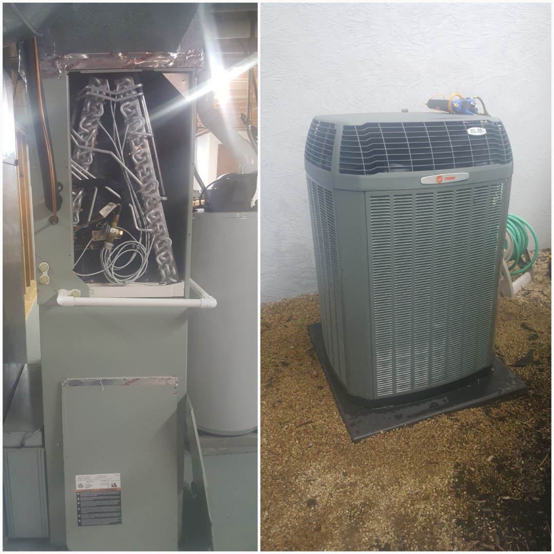 Westerville, OH - Ultra high efficient Trane multi-stage variable speed smart controls xl20i Nexia Cooling system maintenance cleaning and tune-up Bay Dr. Westerville, OH 43082
