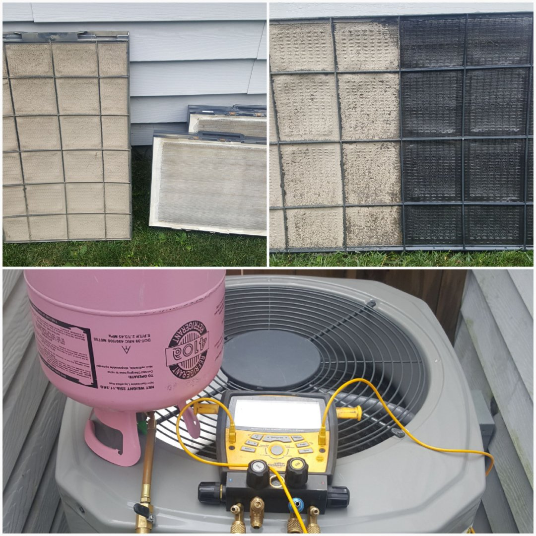 Powell, OH - American Standard cooling system and Trane high efficiency air purification Cooling system maintenance and cleaning including electronic refrigerant pressure testing