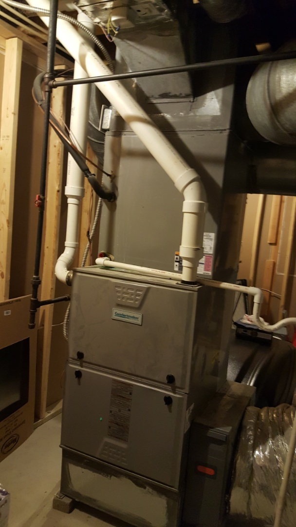 Galena, OH - ICP Tempstar Comfortmaker high efficiency Heating and Cooling with Honeywell HZ Zone control Cooling system inspection and run test McClellon Dr. Galena, OH 43021