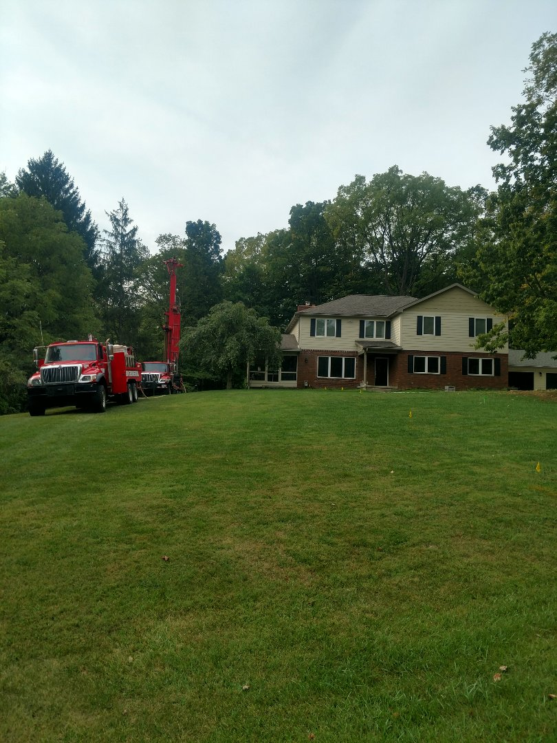 Powell, OH - Installing Water Furnace Geothermal system in Powell.