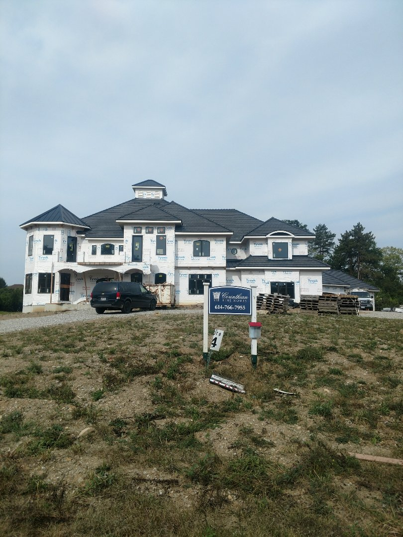 Powell, OH - New Construction HVAC installation in beautiful Corinthian Fine Homes in Powell.