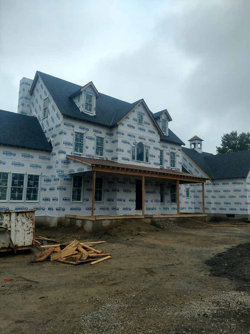 Delaware, OH - Installing 3 Water Furnace Geothermal units in beautiful new construction home near Delaware.