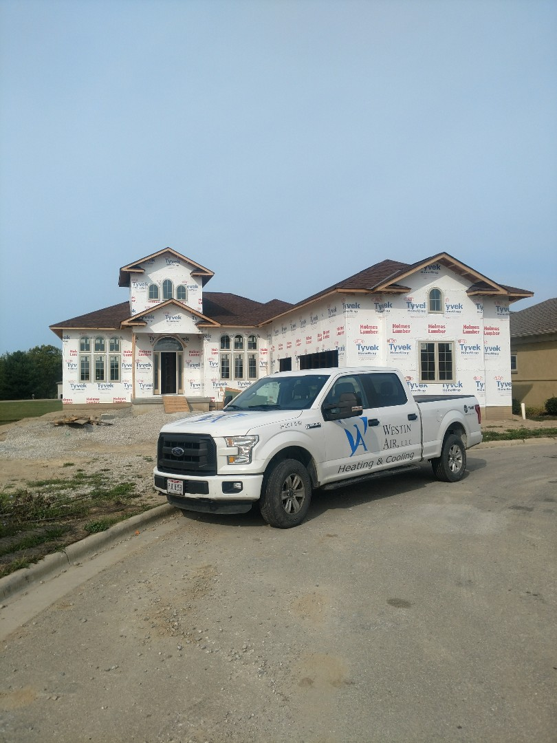 Dublin, OH - Installing Trane HVAC system in beautiful 3 Pillar new construction home in Dublin.