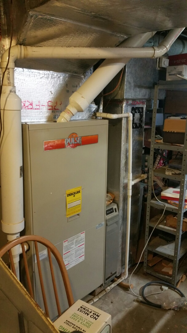 Columbus, OH - Getting ready to replace an old Lennox pulse furnace