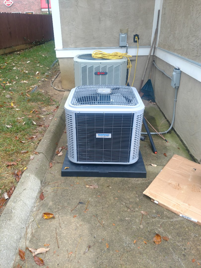 Westerville, OH - Tempstar air conditioner install in Westerville.
