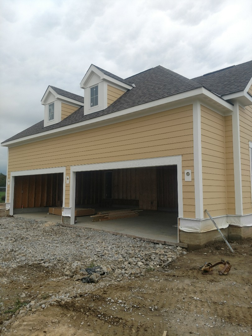 Powell, OH - Trane furnace installation at 3 Pillar new construction home near Powell.