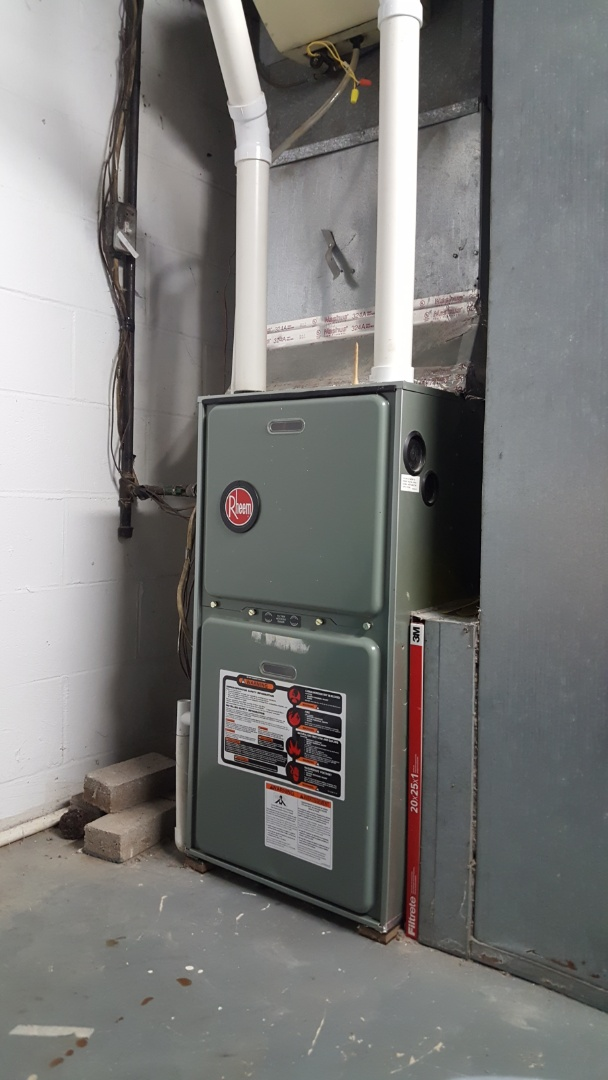 Galena, OH - Warranty drain pressure safety switch  High-efficiency Rheem Ruud natural gas furnace Rome Corners  Galena, OH 43021
