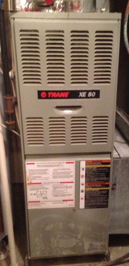 Delaware, OH - Preventive maintenance tune-up and cleaning  Trane xe80, Breathe Right electrostatic air filtration system Timmons Woods Dr. Delaware, OH 43015