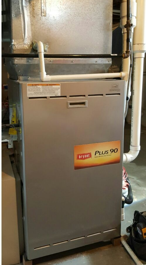 Westerville, OH - Bryant Plus 90 with evolution control  High-efficiency gas heating maintenance tune-up and cleaning Alston Grove Drive Westerville, OH 43082