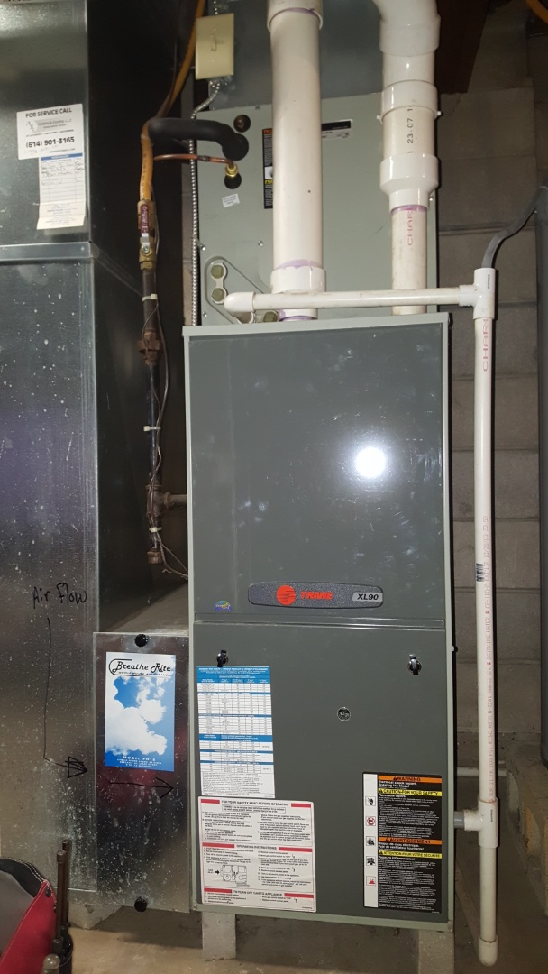 Westerville, OH - Trane xl90 no heat break down diagnostic code 2 Minor Maintenance Cleaning E. Lincoln  Westerville, OH 43081