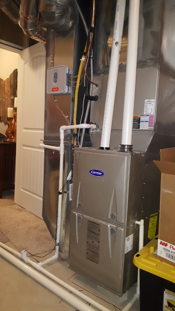 Grove City, OH - Three Pillar Homes  Bryant high-efficiency heating  Honeywell HZ Zone control system setup and air balance