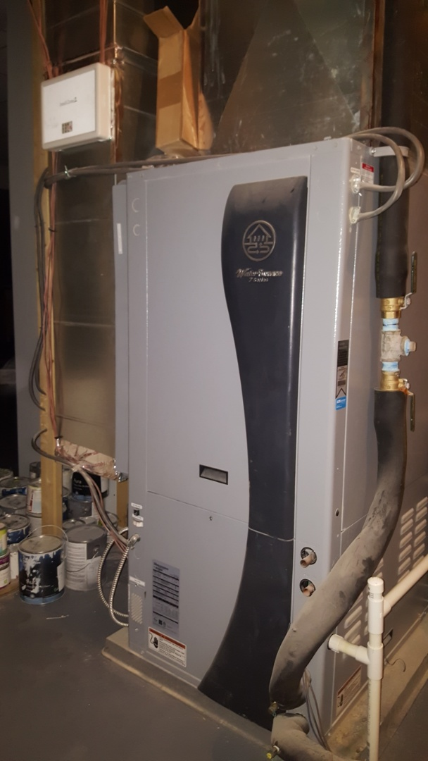 New Albany, OH - 7 Series Water Furnace geothermal  Air coil condensate drain Maintenance Cleaning