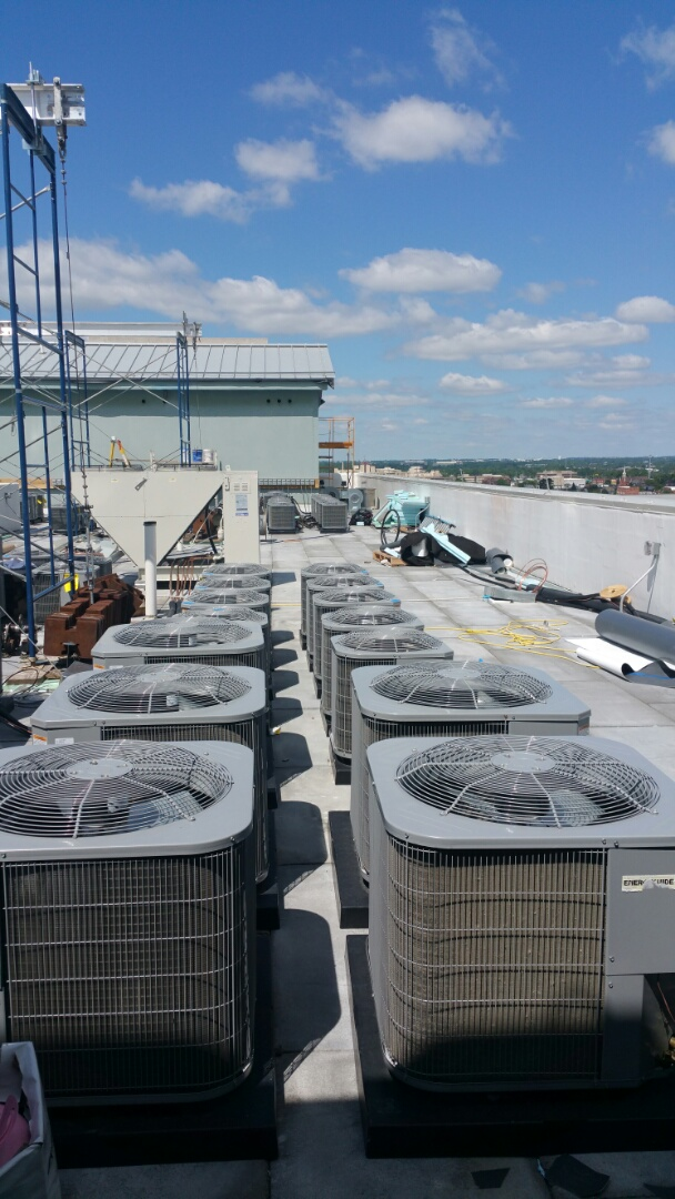 Columbus, OH - Start up on Tempstar apartment air conditioners