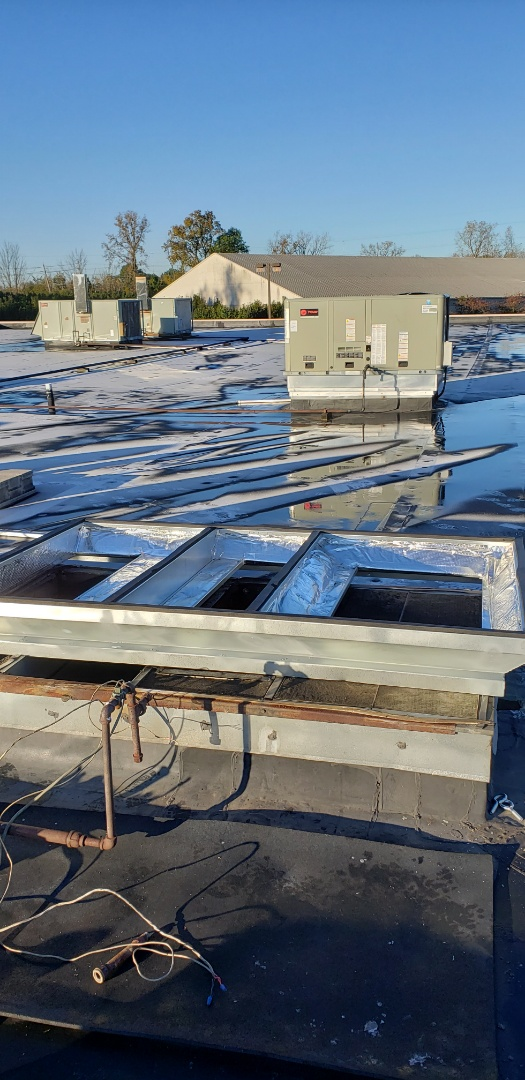 Hilliard, OH - Trane Roof Top HVAC replacement