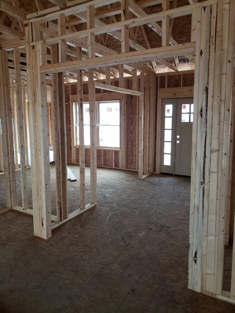 Delaware, OH - Installing Trane furnace in new construction home near Delaware.