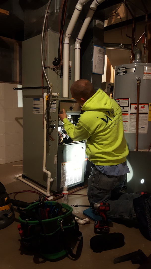 New Albany, OH - Heating tune-up and cleaning burner inspection McCurdy Drive New Albany, OH 43054
