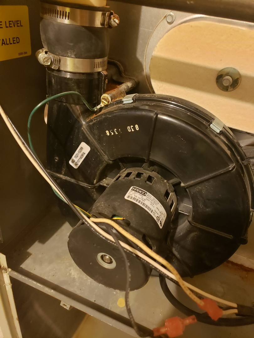 Lewis Center, OH - Diagnosing a faulty draft inducer on a tempstar furnace in Lewis Center
