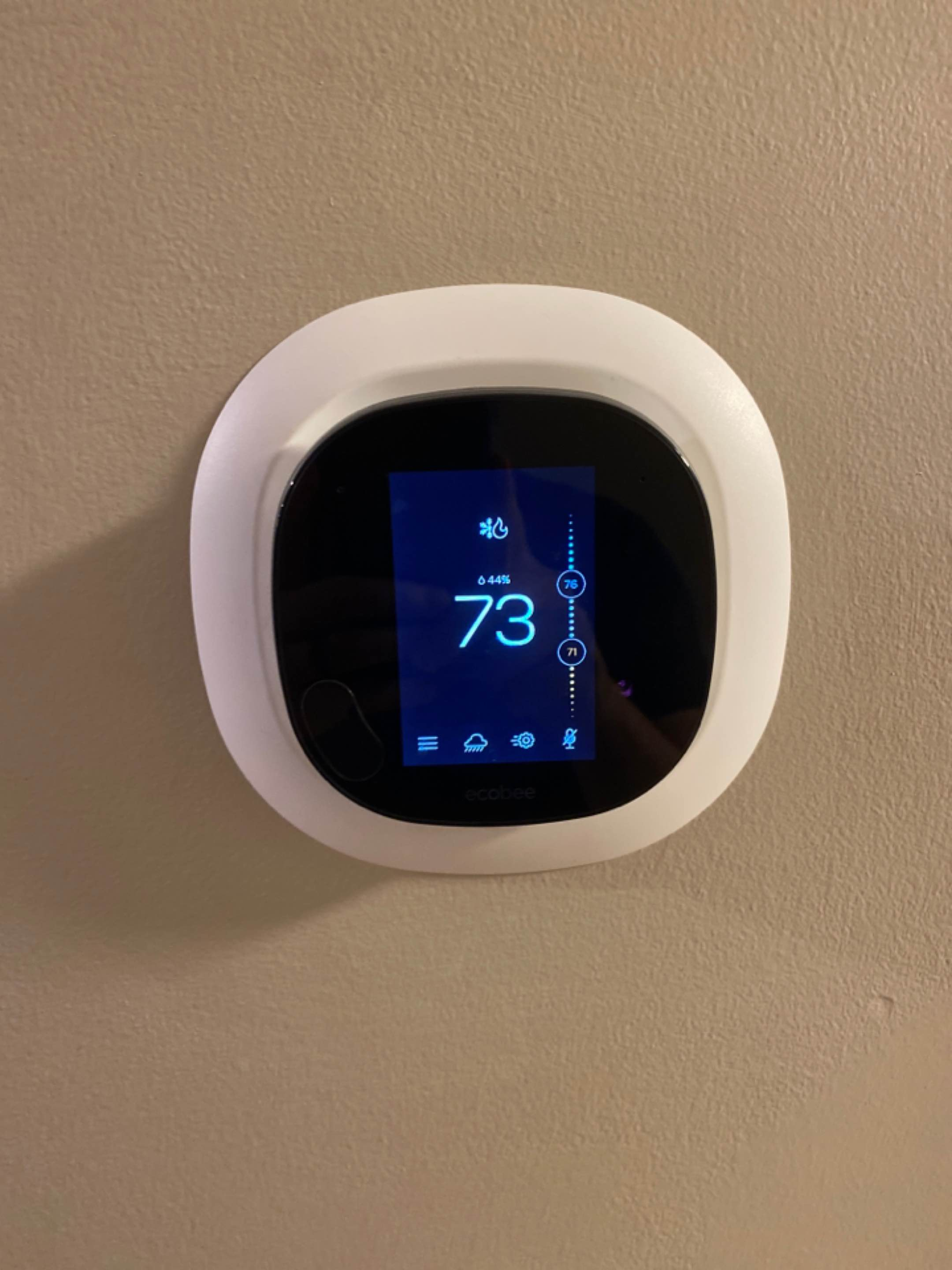 Kennesaw, GA - Replaced old ac thermostat with new.