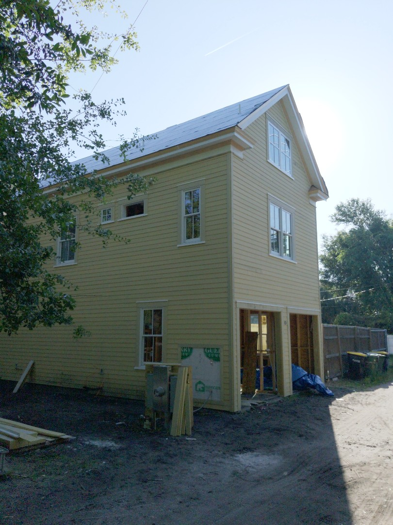 Savannah, GA - Carraige house is ready for us ! We are installing a standing seam new metal roof system in Cinnamon
