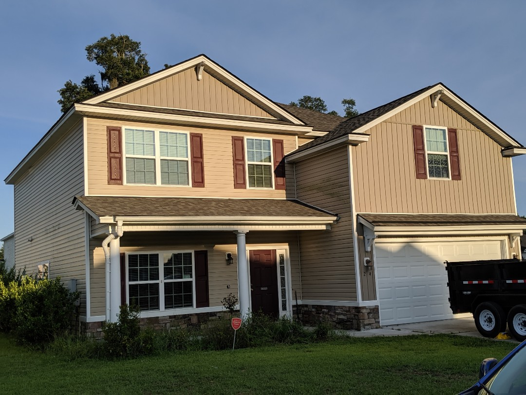 Richmond Hill, GA - Completed another full replacement in Richmondhill.