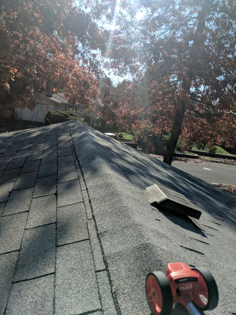 Eugene, OR - Beautiful weather for getting a roof estimate. Call Renaissance Roofing to schedule an appointment to reroof your home.