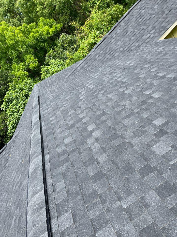 Daphne, AL - Beautiful IKO granite black roof we just completed!🏡
