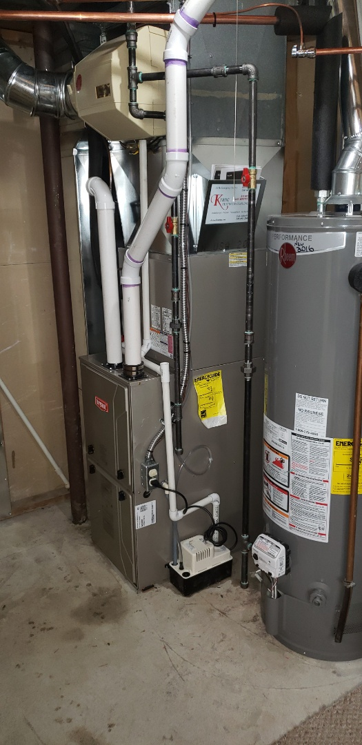 Holly, MI - Finished a full Bryant heating and cooling system
