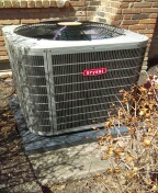 Northville, MI - Installed a 4-ton Bryant air conditioner