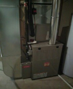 Novi, MI - Installed a 80% efficient Bryant furnace and a 2-ton Bryant air conditioner
