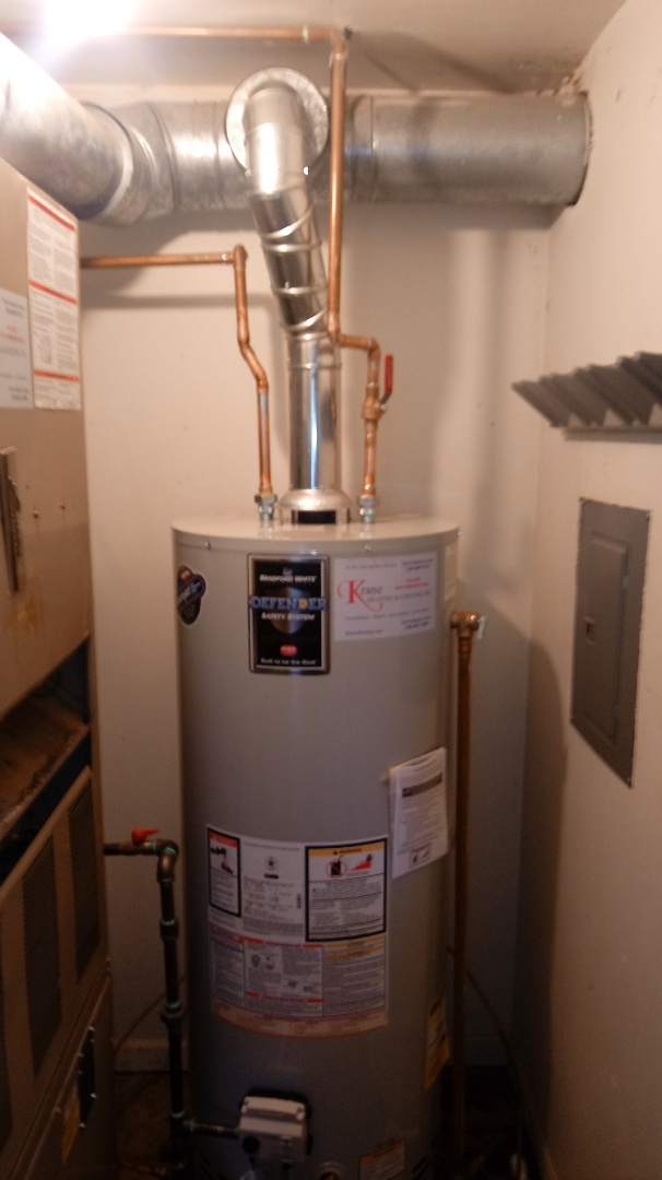 Waterford Township, MI - Installed a Bradford White Water Heater