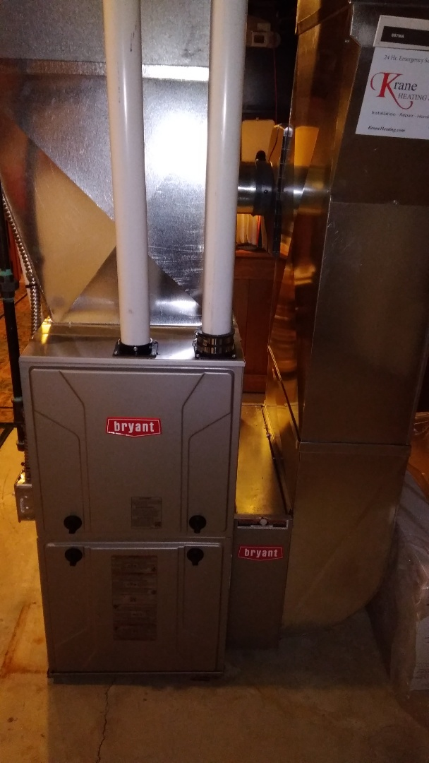 Wixom, MI - Installed an 80000 BTU Bryant Evolution furnace