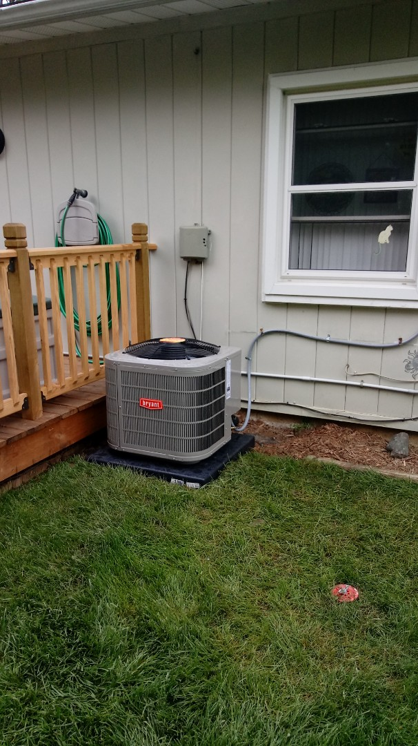 Walled Lake, MI - Installed a Bryant air conditioning system and 96% furnace