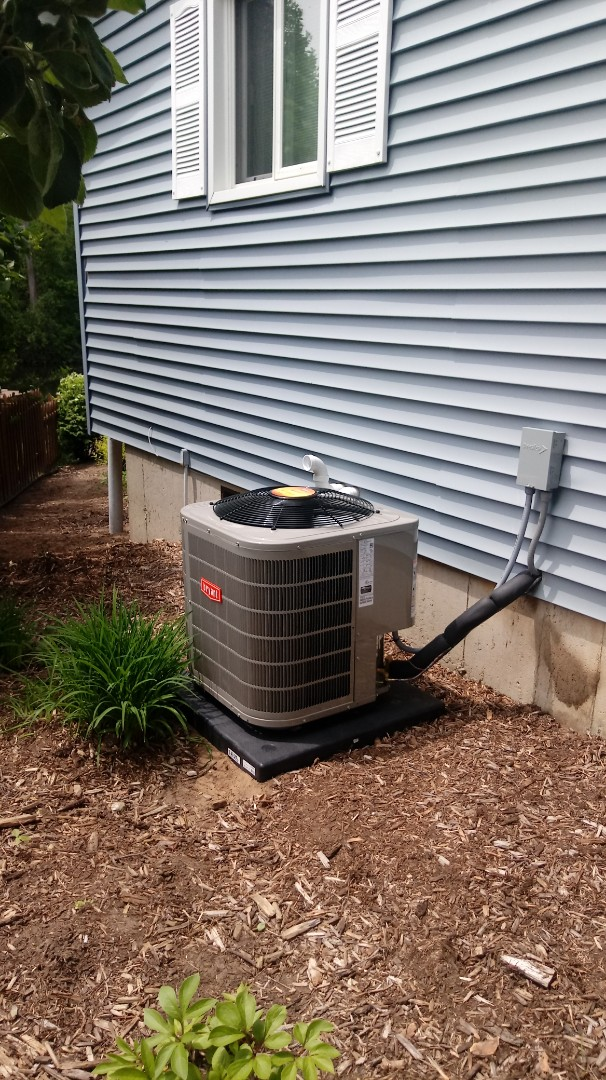 Fenton, MI - Installed a Bryant air conditioning system