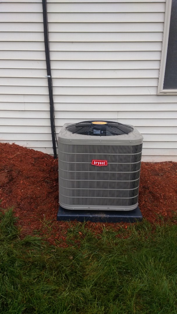 Orion charter Township, MI - Installed a 3 and 1/2 ton Bryant air conditioner