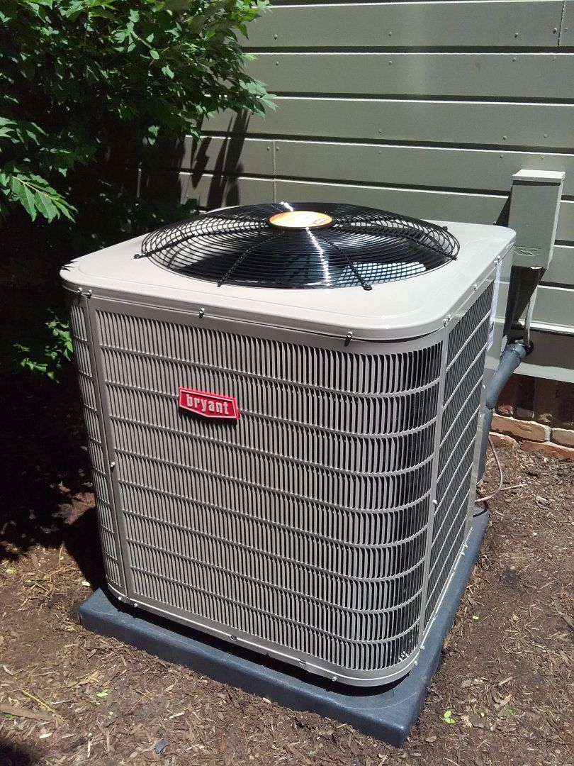 Beverly Hills, MI - Just finished installing a Bryant 5 ton ac