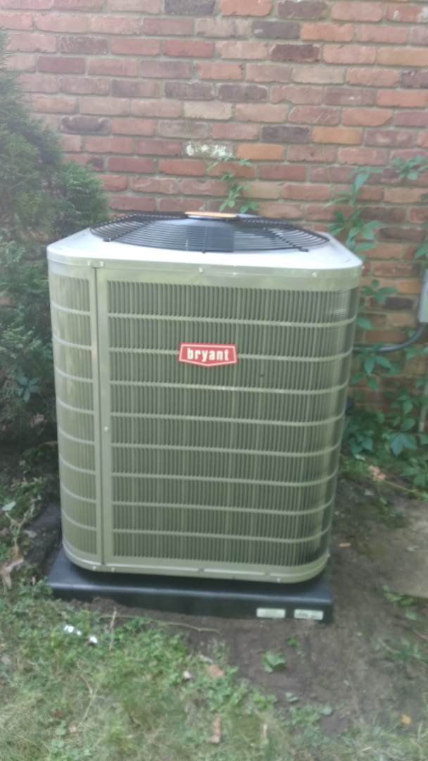 Bloomfield Hills, MI - Install 4-ton Bryant air conditioner