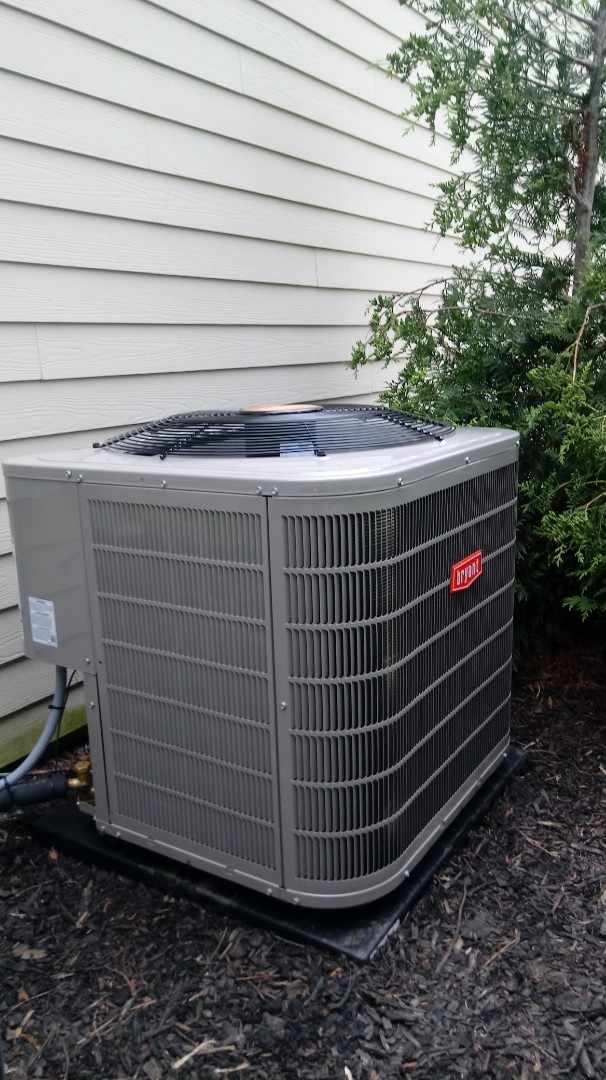 Troy, MI - Installed a Bryant air conditioning system