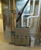 West Bloomfield Township, MI - Installed a 96% efficient Bryant furnace and a 3 ton Bryant air conditioner