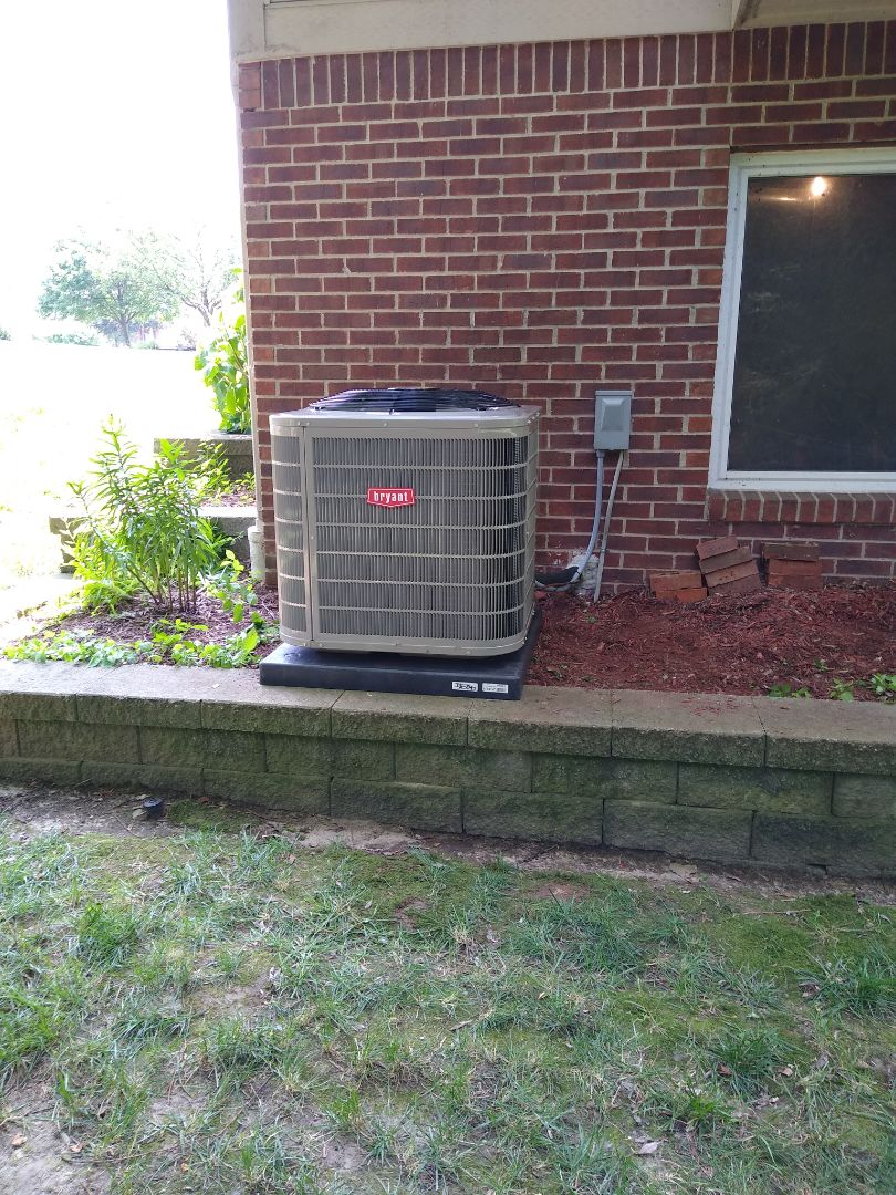 Orion charter Township, MI - Installed a Bryant air conditioning system