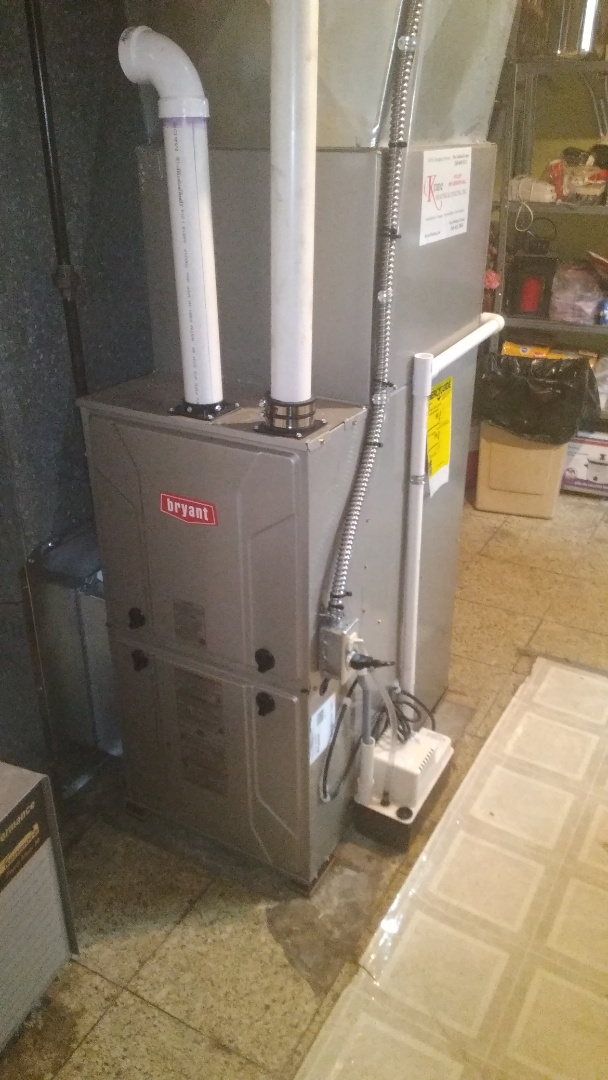 Waterford Township, MI - Install the 60,000 BTU Bryant furnace