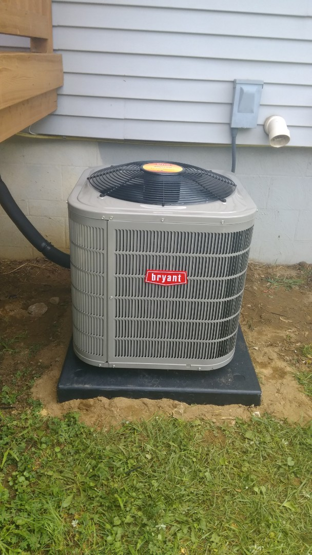 Commerce Charter Township, MI - Installed a two and a half ton Bryant air conditioner