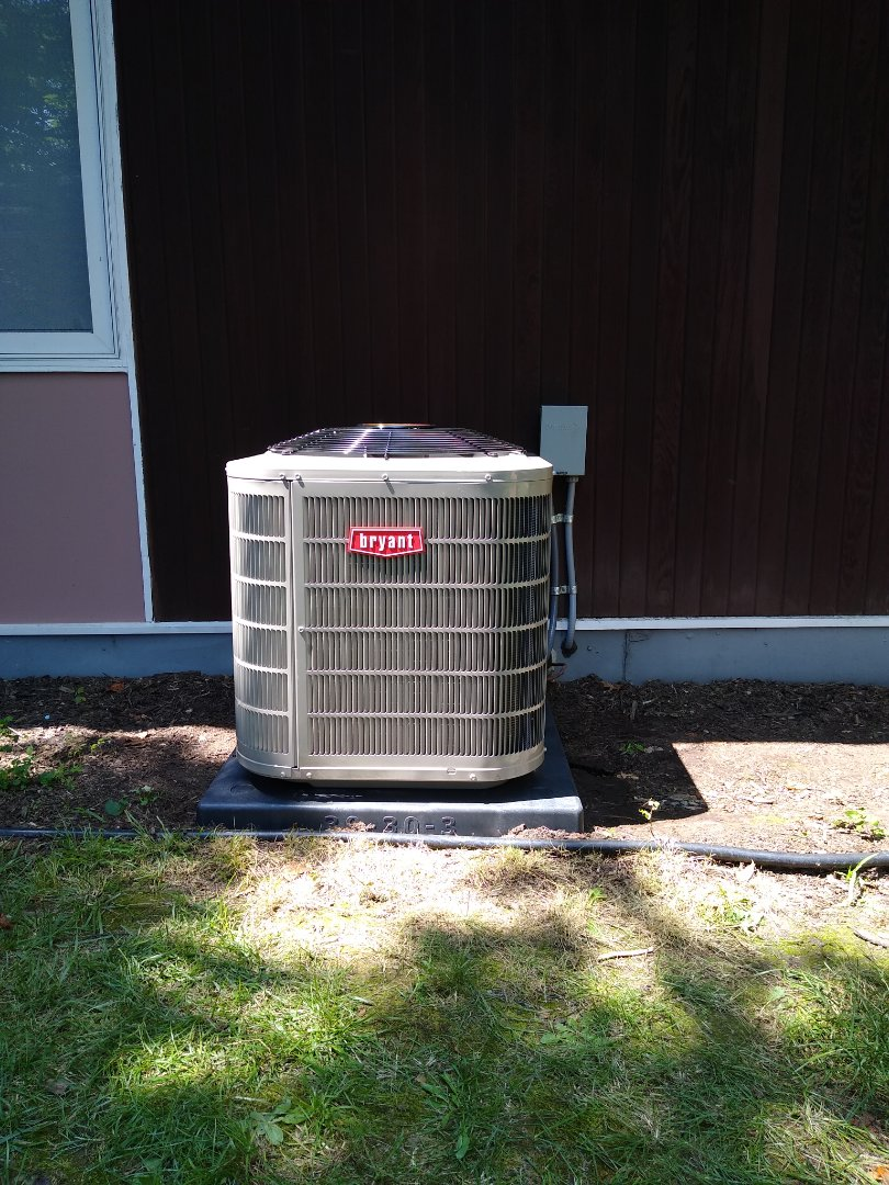 Waterford Township, MI - Installed a Bryant air conditioning system