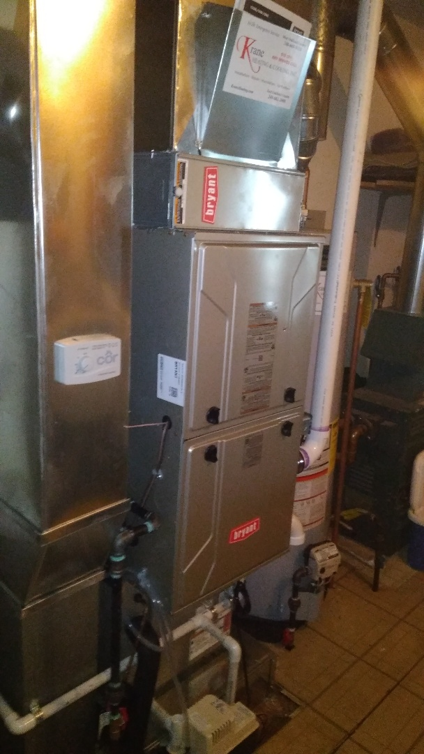 West Bloomfield Township, MI - Installed at 80000 BTU Bryant furnace