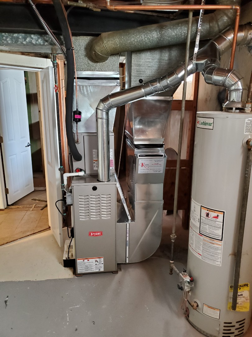 Install  80% percent efficient Bryant furnace