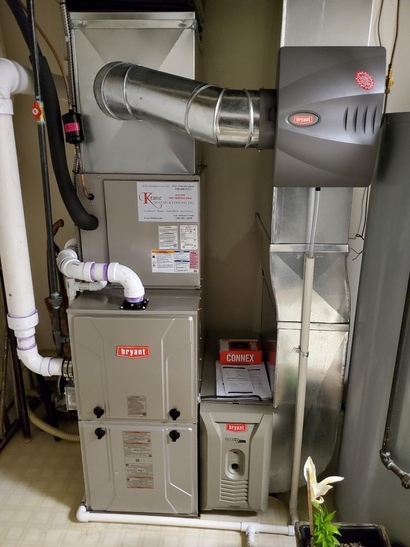Clarkston, MI - Installed a Bryant 96% efficient furnace