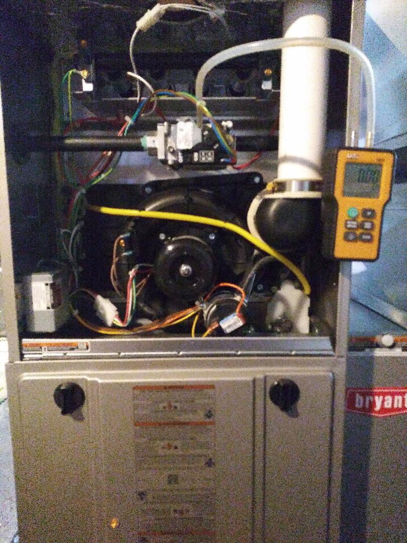 Holly, MI - Calibration of a new bryant two stage preferred series furnace with stat and media 926ta48080
